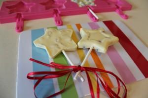 Čokoládové lízatká na detskú oslavu