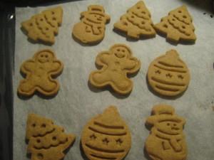 Špaldovo-kukuričné sušienky