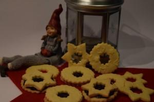 Linecké špaldové koláčiky
