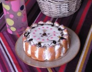 Nepečená smotanová torta