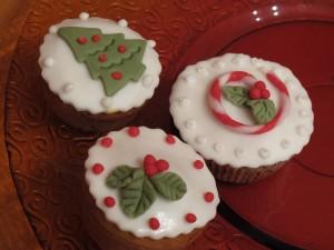 Vianočné vanilkové muffiny