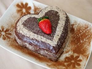 Čokoládová tortička s mascarpone a pomarančom
